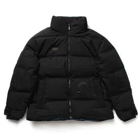 Seamless High-Neck Down Jacket (BLACK)