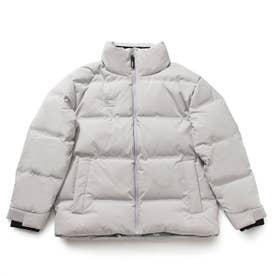 Seamless High-Neck Down Jacket (LIGHT GREY)