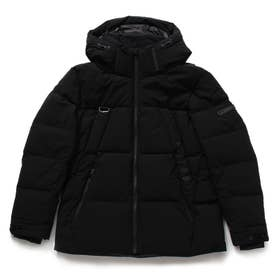Stretch Short Down Jacket (BLACK)