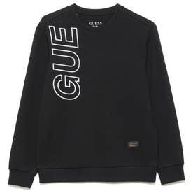 Unisex Lettering Logo Sweat (BLACK)