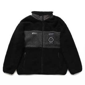 Unisex Boa Zip-Up Jacket (BLACK)