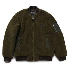 Boa Bomber Jacket (KHAKI)