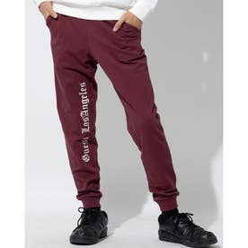 UNI TRACK PANTS (WINE)