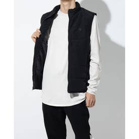 GIBSON QUILTED VEST (JET BLACK)