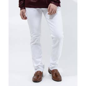 MEN'S DENIM PANTS (WHITE)