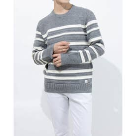 MEN'S PULLOVER SWEATER (GREY)