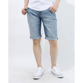LUSCHEK KNIT DENIM SHORTS (LWA)