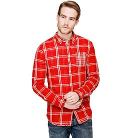 YD DOUBLE MACRO CHECK SHIRT  (LC52)