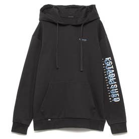 Logo Hooded Parka (DARK GREY)