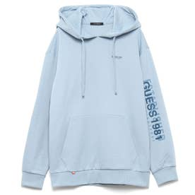 Logo Hooded Parka (LIGHT BLUE)