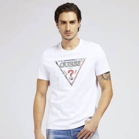 Triangle Logo Tee (TRUE WHITE)