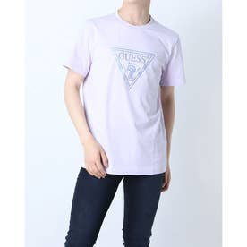 Triangle Logo Tee (LIGHT VIOLET)
