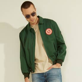 Coated Twill Bomber (CHASER GREEN)