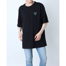 Small Triangle Logo Tee (BLACK)