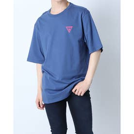 Small Triangle Logo Tee (BLUE)