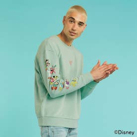 / Mickey and Friends Collection Crew-Neck Sweat (MINT)
