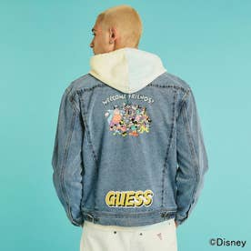 / Mickey and Friends Collection Denim Jacket (LIGHT BLUE)