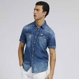 Truckee S/S Denim Shirt (WIPES)