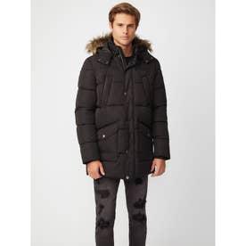 Amyas Parka Jacket (JET BLACK)