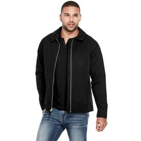 Grady Twill Jacket (JET BLACK)