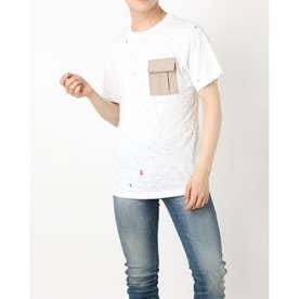 Men'S S/Slv Tee Shirt (WHITE)