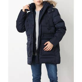 Amos Real Down Parka Jacket (BLUE NAVY/BLUE)