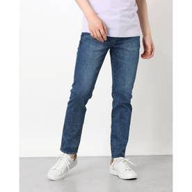Men'S Denim Pants Crop Skinny (MEDIUM BLUE)