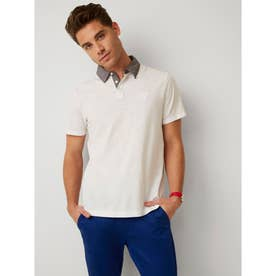 Ss Nick Solid Polo (PURE WHITE)