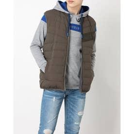 Men'S Padding Reversible Vest (DARK ASH)