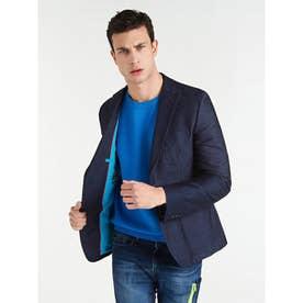 Tyron Slim-Fit Blazer (BLUE NAVY/BLUE)