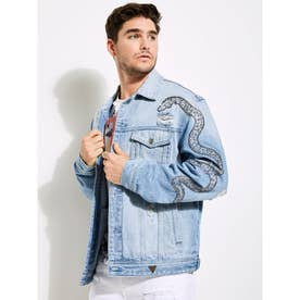 Oversized Denim Jacket (LXVW)