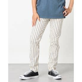 Myron Stripe Pant (NAVY STRIPES)