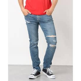 Destroy Skinny Denim Pant (SKATE BLUE)