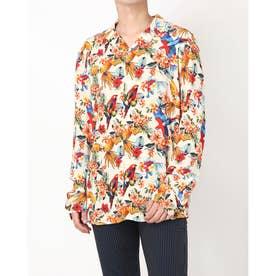 Resort L/S Shirt (PARROTS PRINT SAND)
