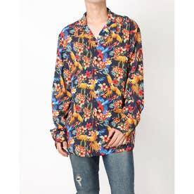 Resort L/S Shirt (PARROTS PRINT)