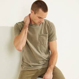 Sueded Jersey Tee (CORD GREEN MULTI)