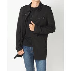 ALWYN Trench Coat (JET BLACK)