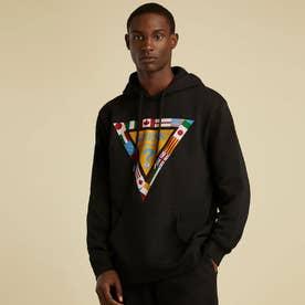 Originals SU GAMES Triangle Logo Hoodie (JET BLACK)