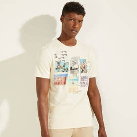 Eco Summer Collage Tee (OLYMPIC IVORY)