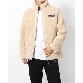 High Neck Padding Jacket (BEIGE)