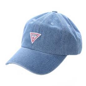 TRIANGLE LOGO DENIM 6 PANEL CAP (LIGHT BLUE)