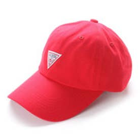 TRIANGLE LOGO CANVAS 6 PANEL CAP (RED)