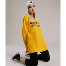 [x GENERATIONS] LOGO SWEAT (YELLOW MIST MULTI)