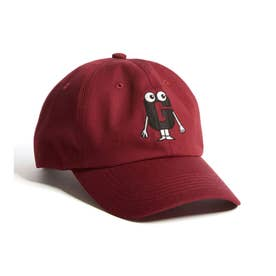 [x GENERATIONS] LOGO 6PANEL CAP (RUGBY RED)