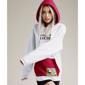 [x GENERATIONS] LOGO HOODED PULLOVER PARKA (LUNAR GREY MULTI)