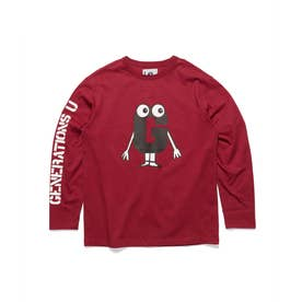 [x GENERATIONS] LOGO L/S TEE (RUGBY RED)