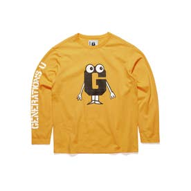[x GENERATIONS] LOGO L/S TEE (YELLOW MIST MULTI)