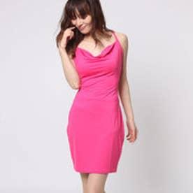 SL LESLEY TIE-BACK DRESS (BEETROOT PURPLE)