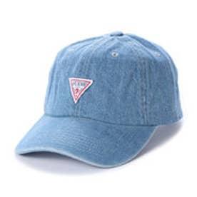 TRIANGLE LOGO DENIM 6PANEL CAP (LIGHT BLUE)