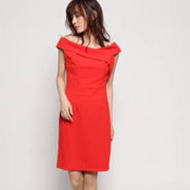 AGATA DRESS (NECESSARY RED)